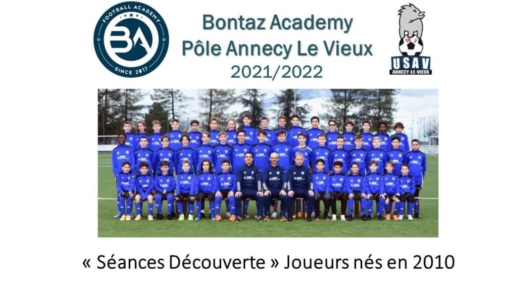 Séance découverte Joueurs nés en 2010 – BA Pôle Annecy-Le-Vieux